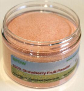 Strawberry Fruit Powder 100% Fragaria × ananassa by NPOW™