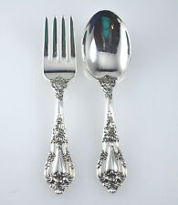 #6550 - Lunt - Eloquence - Baby Set - Fork & Spoon - No Mono