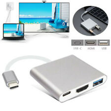USB-C To HDMI 4K+RJ45 LAN Network+USB 3.0+Type C Adapter Converter AC1403 HUB Y