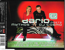 DARIO G - Heaven is closer CDM 4TR Enh Trance Euro House 2002 Europe