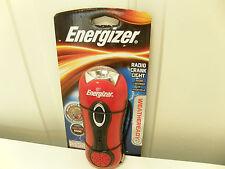 New Energizer AM/FM Radio Crank Radio Flashlight with siren 039800059987