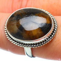 Large Chiastolite 925 Sterling Silver Ring Size 8.75 Ana Co Jewelry R34393F