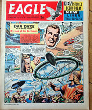 Eagle comic 1960 Oriana passenger ship