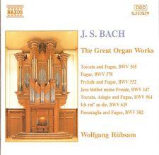 J.S. Bach - The Great Organ Works / Wolfgang Rübsam