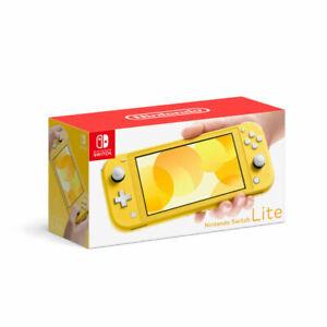 Nintendo Switch Lite - Yellow Brand New in Box Free Shipping