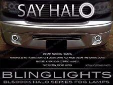 Angel Eye Fog Lamps Driving Lights for 1999-2014 Ford F-150 SVT Lightning Harley