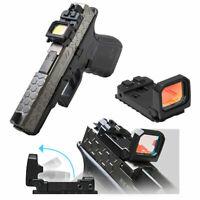 FlipDot Reflex Red Dot Pistol Sight Mini Folding Holographic sight for airsoft
