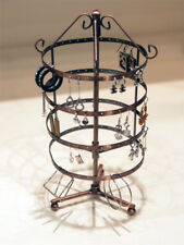 EARRING JEWELRY DISPLAY ROTATING HOLDER STAND RACK - COPPER