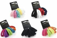 10 Thick Snag Free Endless Hair Ponios Pony Tail Elastics Bands Bobbles