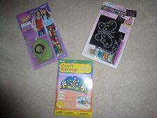 Kids Crafts Tiara Belts Sequin Beads Kits