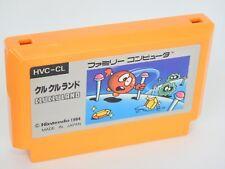 Famicom CLU CLU LAND Cartridge Only Nintendo fc