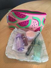 Clinique Gift with Purchase New Sealed Six Items Watermelon Make Up Bag