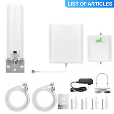Enhance Cell Phone Signal Booster Sprint 1900MHz 2G 3G 4G Repeater Antenna Kit
