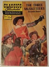 CLASSICS ILLUSTRATED NO. 1 - THE THREE MUSKETEERS - REPRINT