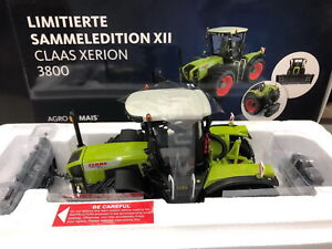 1/32 AgroMais Claas Xerion 3800 Tractor Limited Collection Edition XII UH5392