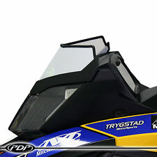 SKI-DOO SUMMIT 2008+ Proven Design Products Snowmobile WINDSHIELD : GLOSS WHITE