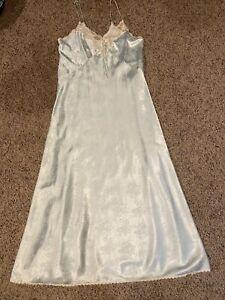 Vintage Christian Dior Lingerie Lace Trim Nightgown LARGE