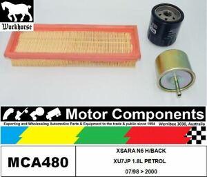 FILTER SERVICE KIT for CITROEN XSARA N6 H/BACK XU7JP 1.8L PETROL 07/98 > 2000