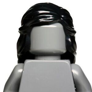 NEW LEGO - Figure Hair - Female - Mid Length w/ Braid Black x1 -