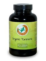 Organic Turmeric Capsules by Geco Supplements (120 x 500mg)