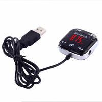 Car Kit Transmetteur Fm Sans Fil Bluetooth Lecteur Mp3 Télécommande Mains L B2L3