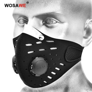 Cycling Mouth Face Covers with Filter Outdoor Ski Dustproof Motorcycle Shield