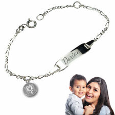 Kinderarmband,Babyarmband  mit albanischer Adler -Silber 925-&Gravur
