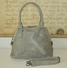 FRITZI AUS PREUßEN  ❤️  SALE Handtasche Schultertasche FLORINIA Vintage Grau