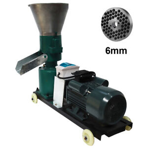 6mm Animal Feed Pellet Mill Machine Suit for Cattle, Sheep, Pig, Horses