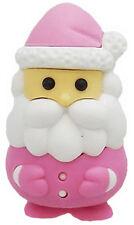 Iwako Pink Santa Claus Japanese Eraser from Japan