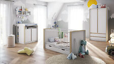 "Diaper Changing Table Baby Dresser convertible ""Nandini"" in white"