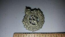 Wwi Antique Canada Military Emblem Collar Badge Wwi Seaforth Highlanders 17Th