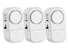 3 x VisorTech Mini Alarmanlage mit Tür + Fensterkontakt Hausalarm Fenster Alarm