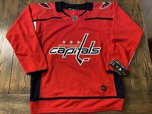 Washington Capitals Home Red Jersey - Mens Small