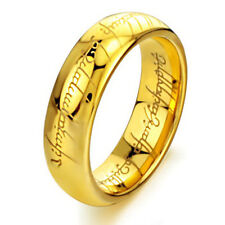 Ring Lotr Stainless Steel Ring Size 6-12 Fashion Men's Lord of the Rings The One