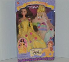 DISNEY PRINCESS BEAUTY AND THE BEAST DRESS UP DREAM BARBIE DOLL NEW NRFB