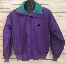 VTG Gerry Ski Bomber Jacket Nylon Men's Size Medium Insulated Purple
