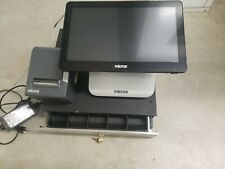 Micros Oracle Pos Systems Workstation 6 Series Model 610 Used