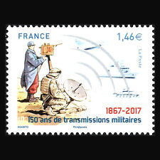 France 2017 - 150th Anniversary of Military Transmissions War - Sc 5320 MNH