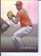 Carlos Correa 2014 Bowman Platinum Prospect QTY
