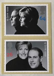 GB QEII 1999 The Royal Wedding PHQ PSM 01 Mint Unused