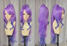 Game LOL League of Legends Janna Cosplay Costume Wig (Need Styled) +Cap