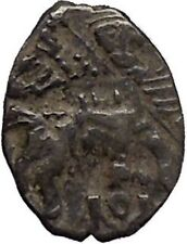 1547-1584 Ivan IV the Terrible Tzar King of Russia Silver Wire Kopek Coin i45318