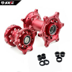 Impact Motorcycle Hub Rear Red for Honda CRF250R 2005-2013