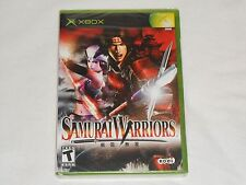 NEW Samurai Warriors 1 XBox Game SEALED KOEI samursi samrai warior US NTSC