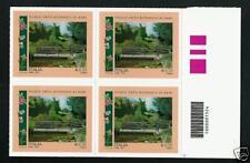 Italia 2013 - Giardini di Merano - quartina con codice a barre
