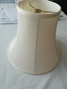 Royal Knoght Bell Chandelier Lamp Shade - Light Beige /Off White