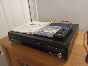 Panasonic DMR-EZ48V DVD VHS VIDEO Recorder COMBI HDMI Transfer Tapes To DVD VCR