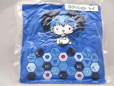 "Evangelion & Hello Kitty collaboration goods cute cushion ""Ray Style Kitty"" Rare"