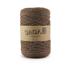 Crafting Cotton 6ply DARK BROWN New Cotton Knit Crochet Weave 220m washable